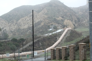 Los Angeles Aqueduct. Photo- Emily Green