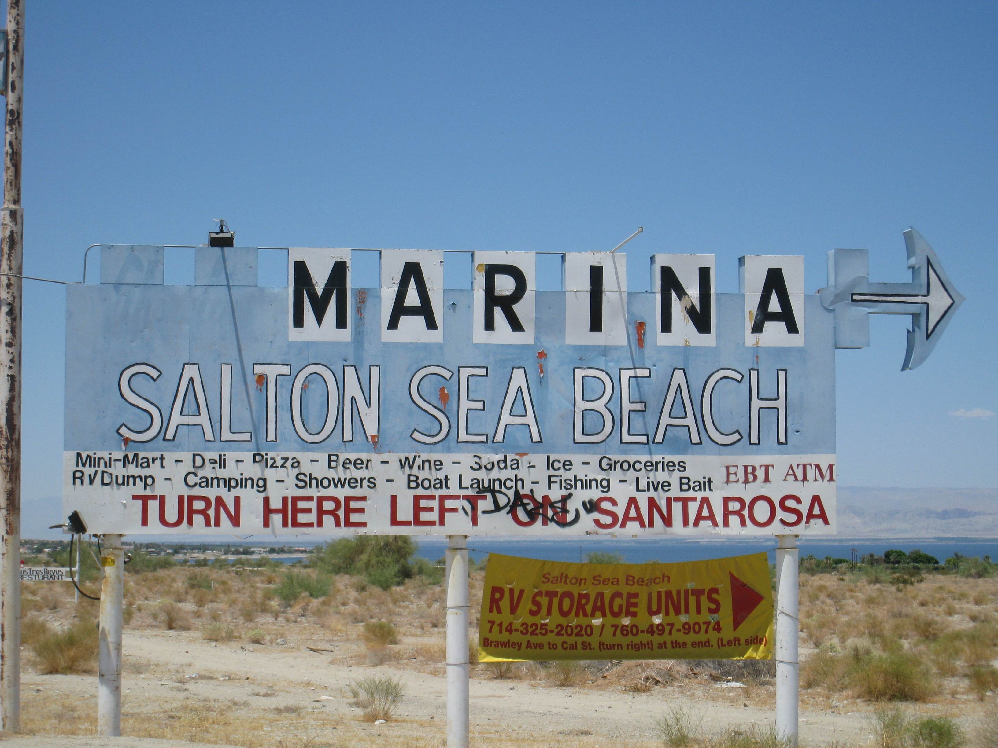 Salton Sea photo / Aquafornia, July 20, 2009
