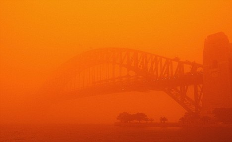 Sydney Dust Storm. Source: Mail on Sunday