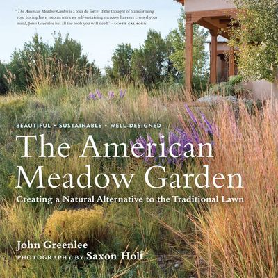 The American Meadow by John Greenlee jacket cover. Timber Press.