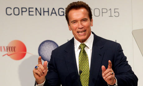 California Governor Arnold Schwarzenegger. Photo: Kay Nietfeld/EPA