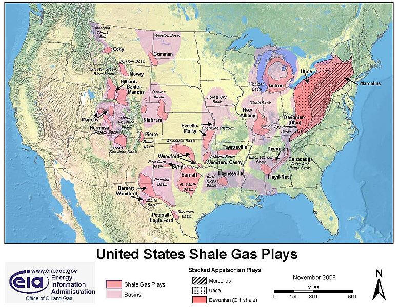 The Week That Was Fracking Special Chance Of Rain - Map of fracking in us