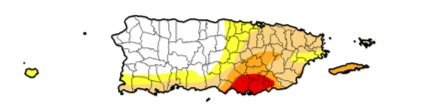 Click on the map to be taken to the US Drought Monitor for Puerto Rico as of 2/2/16