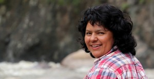 Berta Cáceres. Source: Goldman Environmental Foundation