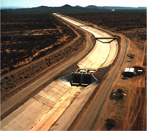 Central Arizona Project. Source: USBR