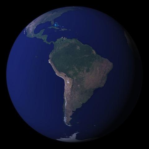 Blue Marble image: NASA
