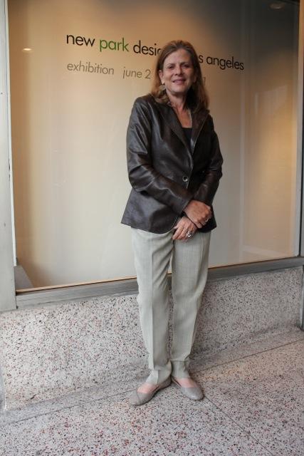 Landscape architect Mia Lehrer