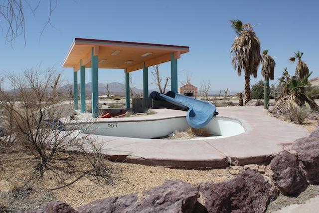 """""""Rock-a-Hoola Waterpark"""" near Barstow, CA. Photo: Emily Green"""