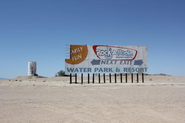 Abandoned Mojave Desert near Yermo, CA. Photo: Emily Green