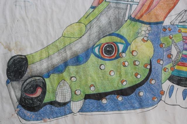 Dragon slide schematic